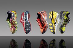 Cool running shoes and a great runnign site