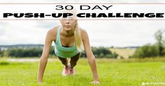Are you ready to test your fitness level with a 30 day push-up challenge? Push-ups are a great full body exercise to do to challenge your fitness level.