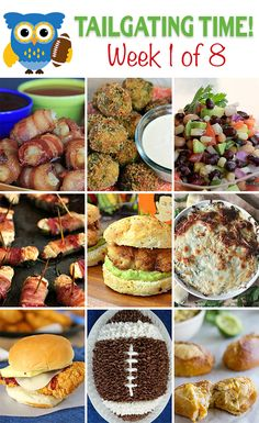 Tailgating Food Ideas ~ 8 Weeks of Them!! - If you love tailgating then this is for YOU! on kleinworthco.com