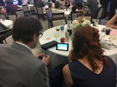 And they said no one would actually play this thing at parties. /switch at a wedding