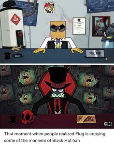 Cartoon Network, Dr Flug, Hat Organization, Villainous Cartoon, Cartoon Crossovers, Paint Colors For Living Room, Cartoon Games, Cool Animations, Art Reference Poses