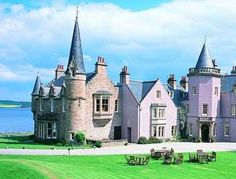 Bunchrew House Hotel, Brunchrew, Inverness, Inverness-shire - a century Scottish mansion - offers 16 unique bedrooms