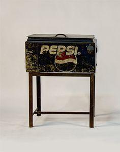 #VintagePepsiCoolerWithStand #TeodoraImports
