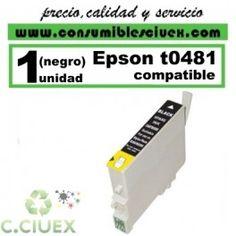 CARTUCHO COMPATIBLE EPSON T0481