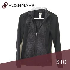 Black Jacket Small jacket perfect for workouts. Very lightweight and comfy material. Champion Tops Sweatshirts & Hoodies