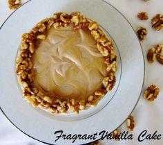 Raw Maple Walnut Cheesecake