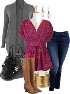 """Running Errands - Plus Size"" by alexawebb ❤ liked on Polyvore"