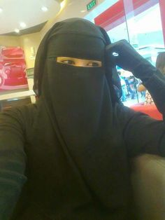Niqqabis selfies