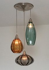 Metro Lighting — Rainshower Mirage Triple Pendant