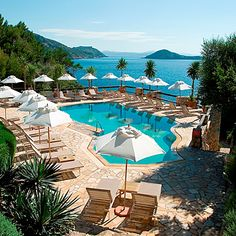 The heated pool at Hotel Il Pellicano, Porto Ercole, Tuscany Oh The Places You'll Go, Places To Travel, Places To Visit, Travel Destinations, Holiday Destinations, Beach Hotels, Hotels And Resorts, Beach Vacations, Top Hotels