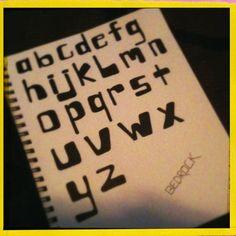 fun font  Dawn DeVries Soko'