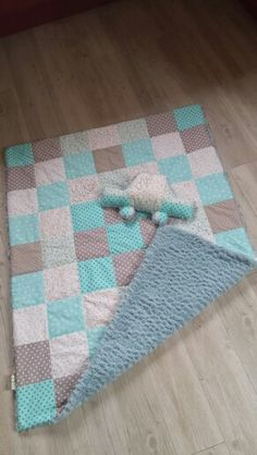 ☆couverture patchwork☆