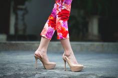 floral pants<3
