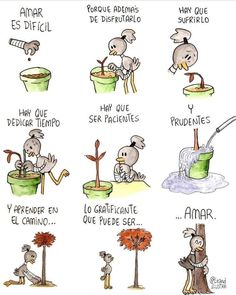 Paciencia, amar Funny Quotes, Life Quotes, Frases Tumblr, Spanish Quotes, 1, Comics, Inspirational, Namaste, Poetry