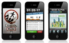 """An exercise game for your Iphone or Android -- """"It works is like this --You're a refugee (or a soldier of fortune if you like) trying to get away from zombies. When you start the app, put in your per-programmed mission. As you are jogging along you are immersed in the game by your headphones.  GPS is built in so it can tell you how far you've run, and the amount of calories you've burned."""""""