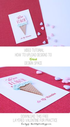 Learn how to upload designs to Cricut Design Space in a video tutorial. Get more Cricut crafting ideas with Kim at TheCelebrationShoppe.com