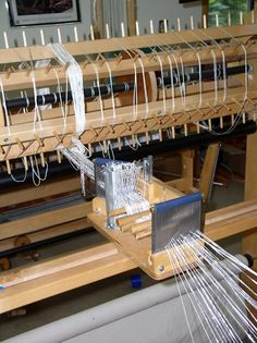 Sectional Warping and tension box