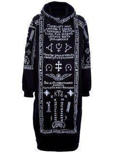 KOKON TO ZAI Church Embroidery Hoodie