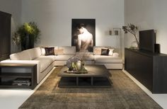 Living room - Home Accessories Trend Living Room Modern, Living Room Bedroom, Living Room Interior, Home Interior, Living Room Designs, Living Room Decor, Bedroom Decor, Interior Ideas, Interior Design Lounge