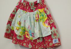 sis boom girls twirl skirt  with attached apron..