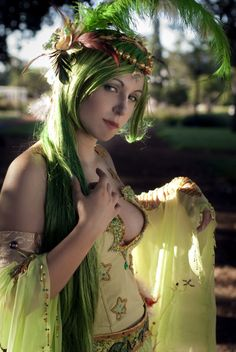 Rydia (Final Fantasy) Cosplay by: ? , 1-More in comment. - Imgur