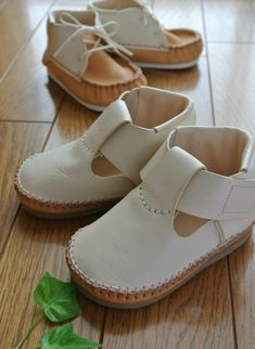 T-strap baby shoes