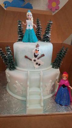 disney frozen birthday party ideas - magiclip Elsa and Anna cake. Disney Frozen Birthday, Frozen Birthday Cake, Frozen Theme Party, Frozen Cake, Birthday Cakes, 3rd Birthday Parties, Birthday Fun, Princess Birthday, Birthday Ideas
