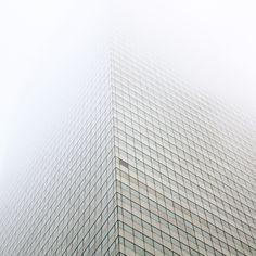 misty #white #architecture