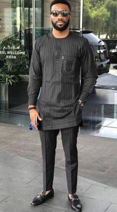 Fashion Tips For Chubby African men clothing. African Wear Styles For Men, African Shirts For Men, African Dresses Men, African Attire For Men, African Clothing For Men, Mens Clothing Styles, African Men Style, Apparel Clothing, Men's Apparel