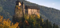 Orava castle again: utterly awesome - might go there this afternoon!