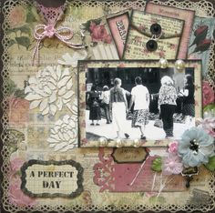A Perfect Day ~ Scrap That! February Kit Reveal ~ With Love ~ - Scrapbook.com