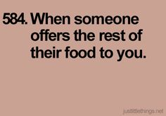 haha this is so me. food<3