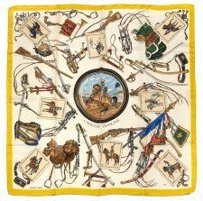 """Hermès- Cavalerie Française"""", dessiné par Philippe Ledoux (1960)"""
