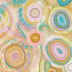 Aboriginal Dot Art, Aboriginal Culture, Aboriginal Artists, Aboriginal Painting, Dot Art Painting, Painting Canvas, Art Assignments, Cosmic Consciousness, Australian Art