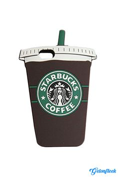 Starbucks 3D iPhone Case [iPhone 5, 5s, 6, 6 Plus] - Shop our entire collection at www.getonfleek.com