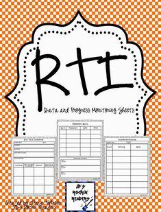 Adventures in Literacy Land: RTI Documentation- Tier 3