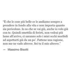 Sei tu il mio altrove. Massimo Bisotti