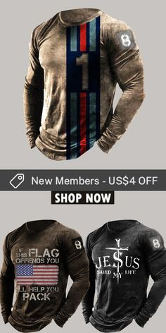 Up to 45% off! Men fashion long-sleeve T-shirt and accessories holiday sale for discount, free shipping on order $59. Shop now! #sale #men #outfits #accessories #shoes #shirt #tee #fall #winter #hoodie #tactical Casual Jeans, Men Casual, Fashion Clothes Online, Fashion Outfits, Cargo Jeans, Mens Clothing Styles, Hoodie Jacket, Long Sleeve Shirts, Men Sweater