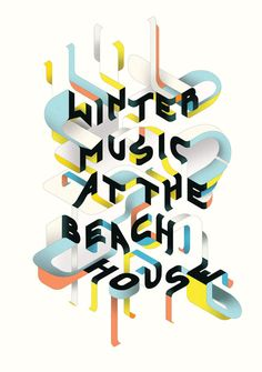 Typeverything.com - Winter Music At The Beach House by Charles Williams.