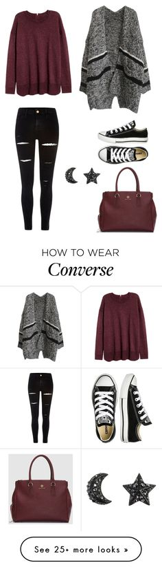 """Autumn outfit"" by secret-girl02 on Polyvore featuring River Island and Converse"