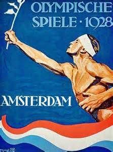 1928 SUMMER OLYMPICS AMSTERDAM, NETHERLANDS