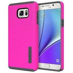 Incipio Samsung Galaxy Note 5 Dual PRO Case - Pink / Grey
