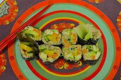 Under The Sea Pate & Rice Free Sushi Rolls | Young and Raw