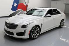 2016 Cadillac CTS V Sedan 4-Door 2016 CADILLAC CTS-V SUPERCHARGED PANO ROOF NAV 6K MILES #158934 Texas Direct