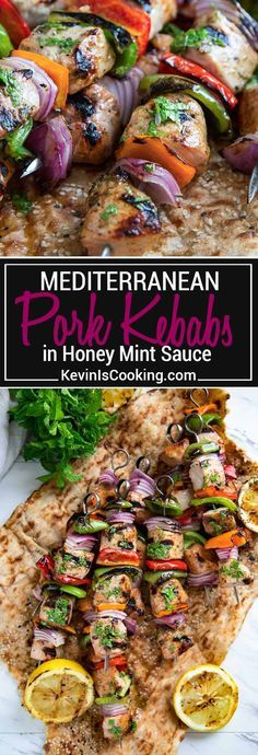 Jamie oliver chicken shawarma kebab recipe on jamies comfort food these pork kebabs have cubed marinated center cut pork chop meat cut vegetables and are grilled then topped with a lemon honey and mint sauce drizzle forumfinder Image collections