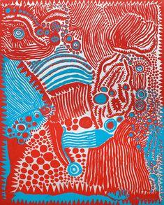 'A SENSATION OF THE DAYBREAK' (2012) by Yayoi Kusama