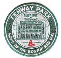 "Boston Red Sox ""Fenway Park, Home of the Boston Red Sox"" Patch Clemson Baseball, Baseball Live, Twins Baseball, Baseball Socks, Baseball Players, Mlb, Baseball Buckets, Backyard Baseball, Red Sox Nation"