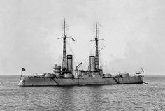 Andrei Pervozvanny was a predreadnought battleship built for the Imperial Russian Navy during the mid-1900s. Not very active during World War I and her bored sailors joined the general mutiny of the Baltic Fleet in early 1917. She was used by the Bolsheviks to bombard the rebellious garrison of Fort Krasnaya Gorka during the Russian Civil War in 1919 and was torpedoed by British Coastal Motor Boats shortly afterwards, as part of the allied intervention in the Russian Civil War.
