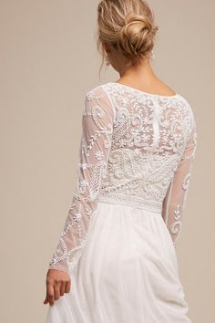 Wedding Dress Vintage Sinclair Dress Ivory/Champagne in Bride Western Wedding Dresses, Sexy Wedding Dresses, Wedding Gowns, Lace Wedding, Wedding Ceremony, Lace Back Wedding Dress, Ceremony Dresses, Wedding Week, Garden Wedding