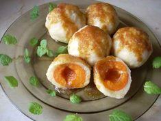 Przepis: Knedle serowe z morelami